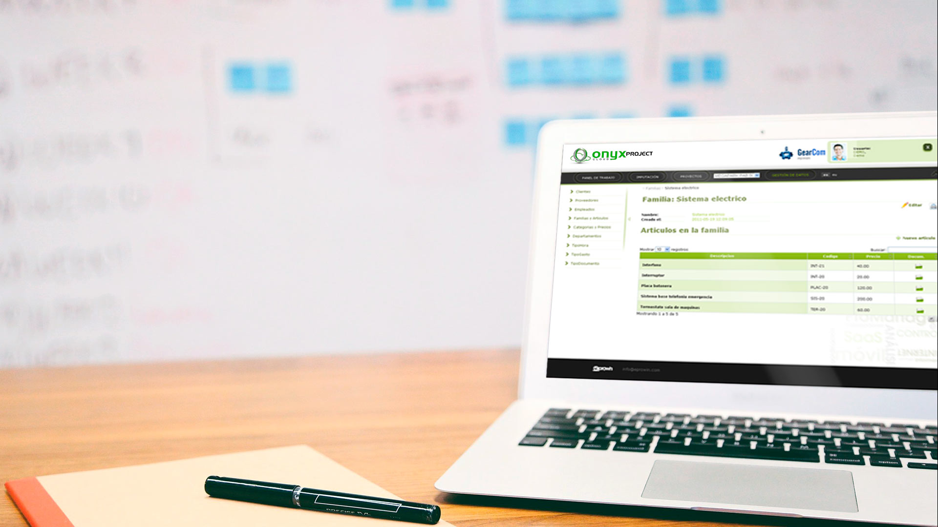 Gestión de Proyectos online